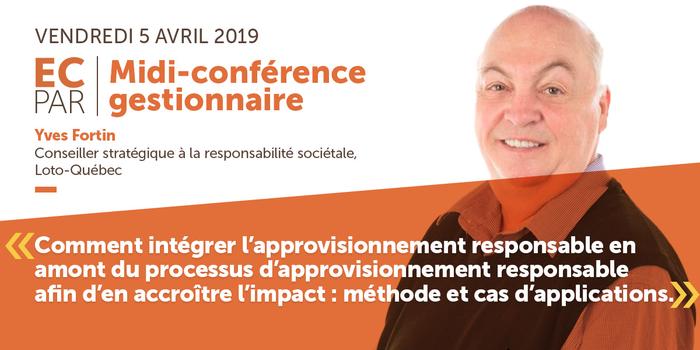 ECPAR Conférence Gestionnaire