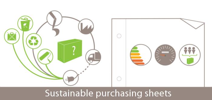 Responsible purchasing sheets